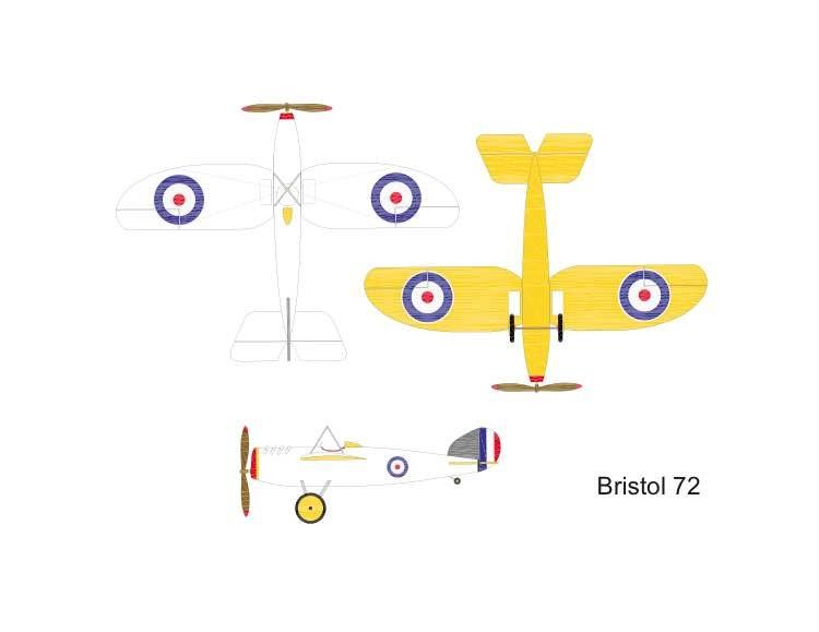 Bristol 72-Peanut-Arno-Diemer-vec model airplane plan