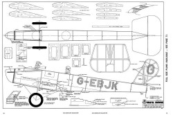 Bristol Brownie-RCM-05-70 430 model airplane plan