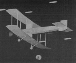 Bristol Laboratory model airplane plan