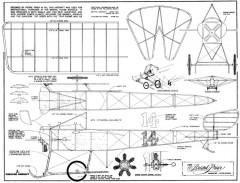 Bristol Prier model airplane plan