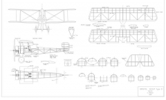 Bristol Scout D model airplane plan