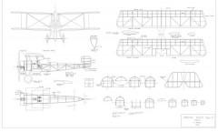 Bristol Scout D model airplane plan