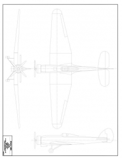 Bristol Type 138 model airplane plan