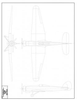 Bristol Type 138 model airplane plan