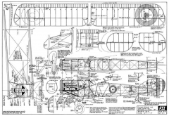Bristol f2b model airplane plan