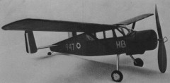 Broussard MH 1521 model airplane plan