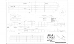 Brujo model airplane plan