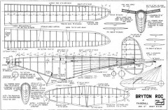 Bryton Roc model airplane plan