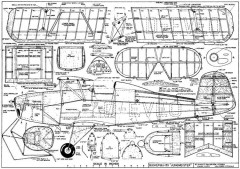Bucker BU-133 Jungmeister model airplane plan