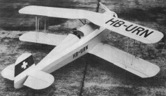 Bucker Jungman BU 131B model airplane plan