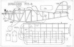 Bugaboo MK-6 model airplane plan