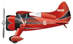 Halls Bulldog model airplane plan