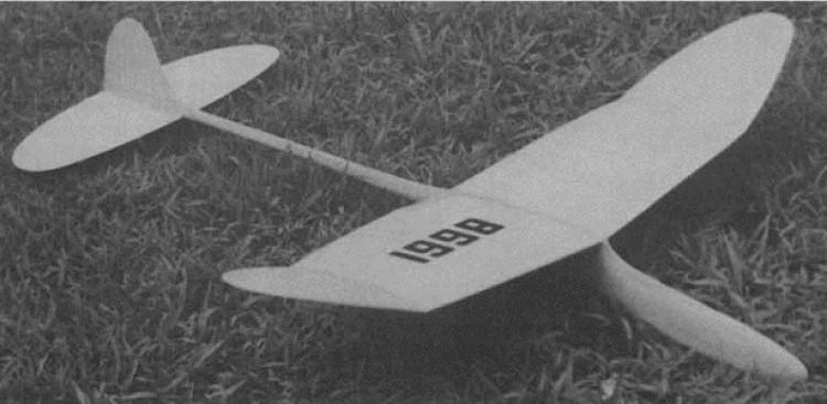Bulldog model airplane plan
