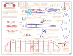 Bumblebug model airplane plan