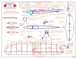Bumblebug model airplane plan
