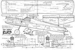 Burp-Aeromodeller 01-69 model airplane plan