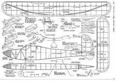 Buster model airplane plan
