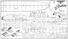 Butor model airplane plan