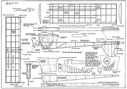 Buz Bug model airplane plan