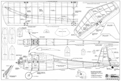 Buzzard Bombshell-RCM-02-73 521 model airplane plan