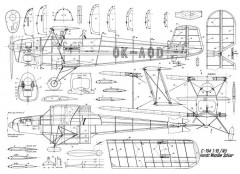 C-104 NU model airplane plan