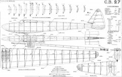 CB-27 model airplane plan
