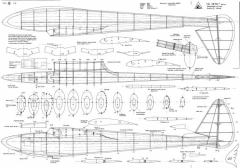CB28 2m Glider model airplane plan