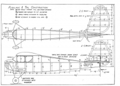 CabinGas model airplane plan