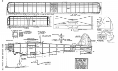 Cabin 160-MAN-10-49 model airplane plan