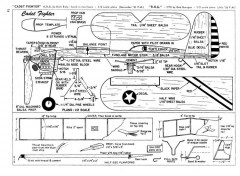 Cadet Fighter and ROG model airplane plan
