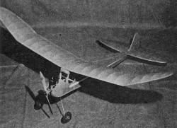 Cadet model airplane plan