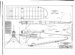 California Chief model airplane plan