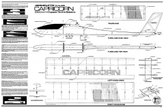 Capricorn 1M Aeroflyte model airplane plan