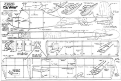 Cardinal model airplane plan