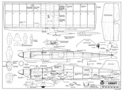 Cassut model airplane plan