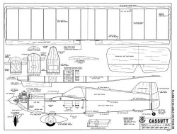 Cassutt-RCM-06-71 463 model airplane plan