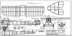 Castaibert II model airplane plan