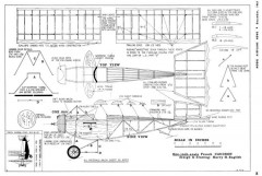 Caudron Monoplane-MAN 12-61 model airplane plan