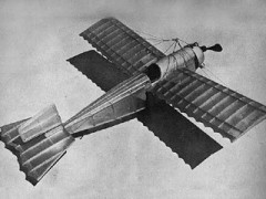 Caudron Monoplane model airplane plan