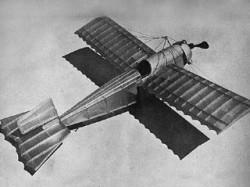 Caudron Monoplane model airplane plan