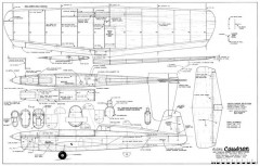 Caudron model airplane plan