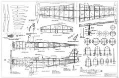 Cavalier Turbo Mustang III model airplane plan