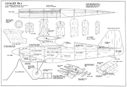 Cavalier mk4 model airplane plan