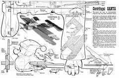 Centrifugal Santa model airplane plan