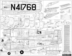 Cessna 172 2 model airplane plan