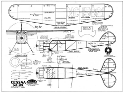 Cessna G9 model airplane plan