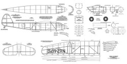 Cessna-C-106 Loadmaster model airplane plan