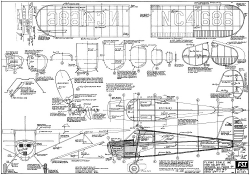 Cessna 120/140 model airplane plan