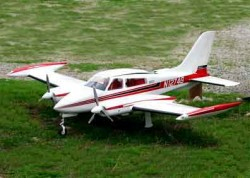 Cessna 310 model airplane plan