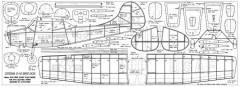 Cessna O-1E Bird Dog model airplane plan